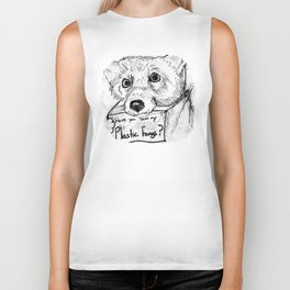 Plastic Fangs Collective Biker Tank
