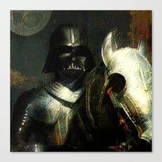 Knight Vader  Canvas Print