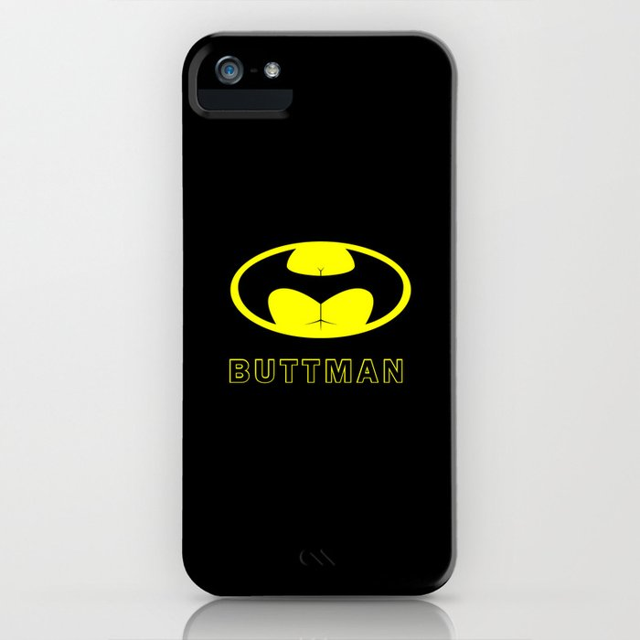 BUTTMAN iPhone Case