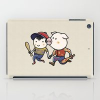 earthbound iPad Cases featuring Mother Miami by Jarvis Glasses