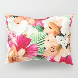 Flowers Potpourri two Pillow Sham