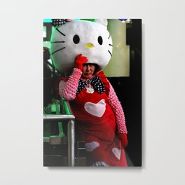 Hot Kat Metal Print