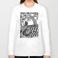 jazzberry Long Sleeve T-shirts featuring The Golden Apples (1) by Judith Clay