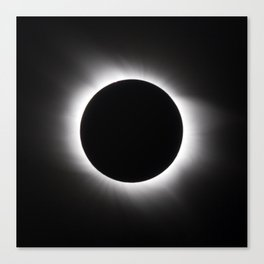 Solar Eclipse Canvas Print