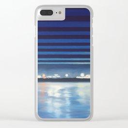 Santa Barbara Pier Clear iPhone Case