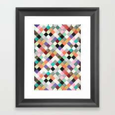 Pass this Pastels Framed Art Print