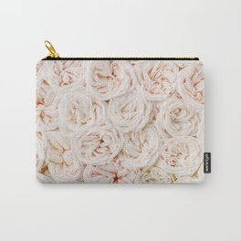 Ivory Rose Carry-All Pouch