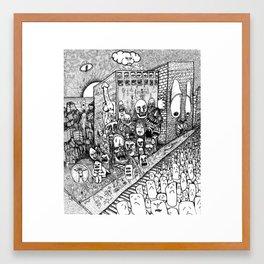 Psychological Dump Framed Art Print