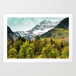 Sundance MTN Art Print