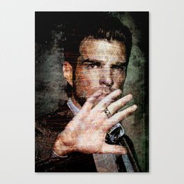 Celebrity Row - Zachary Canvas Print