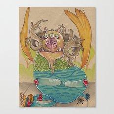 SOMETIMES YOU FALL Canvas Print