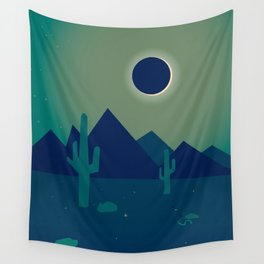 Desert Eclipse Wall Tapestry
