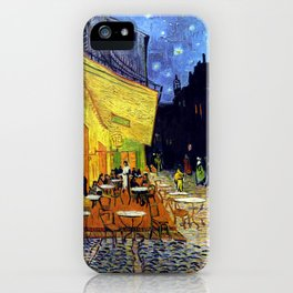 Cafe Terrace at Night iPhone Case