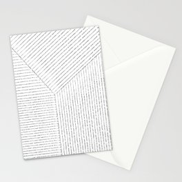 Lines Art Stationery Cards