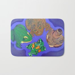 4 Objects Bath Mat