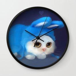 Team Bunny Wall Clock