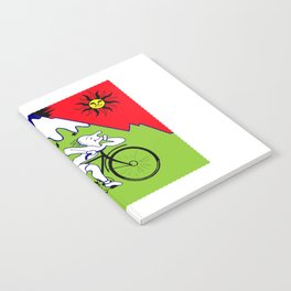 Lsd Bicycle Notebook