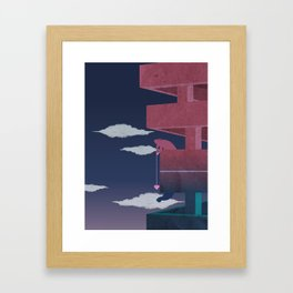 Building relationship Framed Art Print