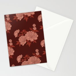 Peonia 3 Stationery Cards