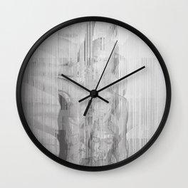 Bunny Girl Glitch Wall Clock
