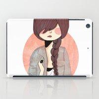 nan lawson iPad Cases featuring Some Fashion by Nan Lawson