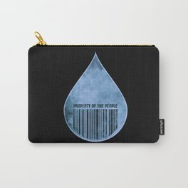 Water : Property of the People 2 Carry-All Pouch