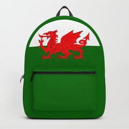 Welsh Dragon Flag Backpack