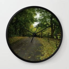 Change to Autumn Wall Clock
