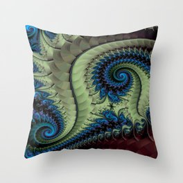 Fractal Abstract 87 Throw Pillow