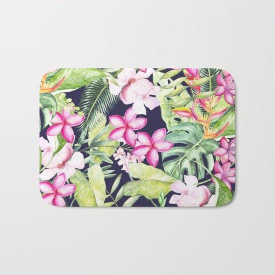 Tropical Garden Bath Mat