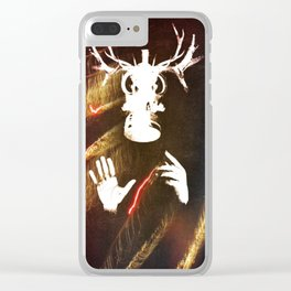 He Clear iPhone Case