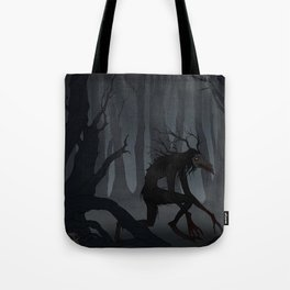 Drawlloween Dark Forest Tote Bag