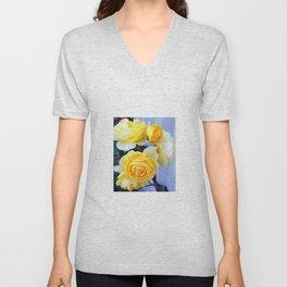 The perfect lemon rose Unisex V-Neck
