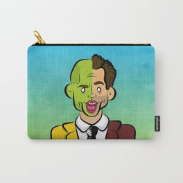 Carrey Mask Carry-All Pouch