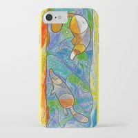 platypus iPhone & iPod Cases featuring Platypus by Nemki