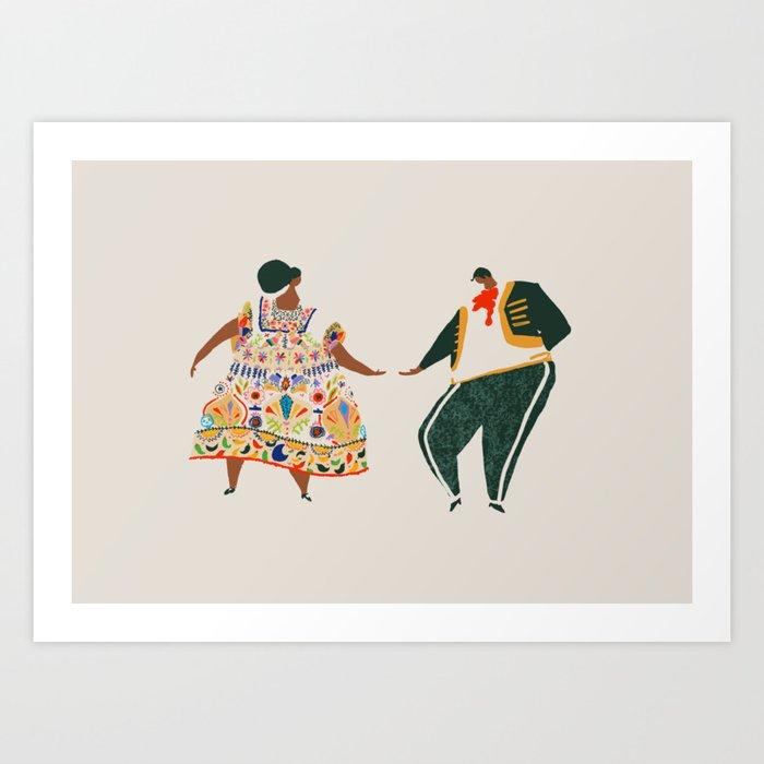 Méjico lindo Art Print