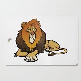 Lion Cutting Board