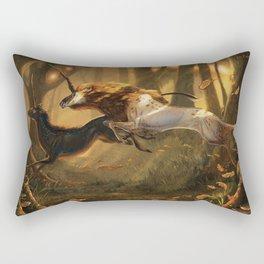 Wild Unicorns Rectangular Pillow
