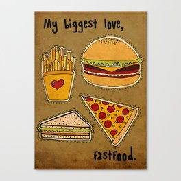 My Biggest Love Canvas Print
