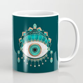 Teal Eye Coffee Mug