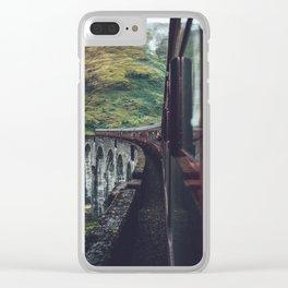 Glenfinnan Clear iPhone Case