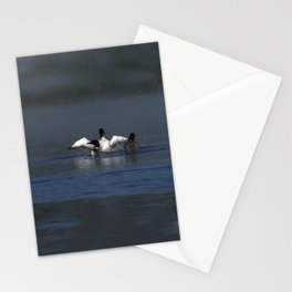 loon wave Stationery Cards