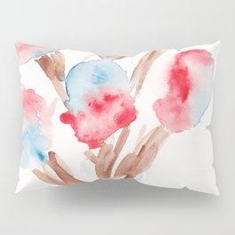 23  | Loose Watercolor Flower | 191015 Pillow Sham