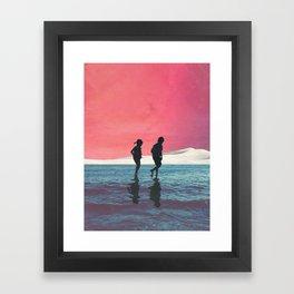 Until Dusk Framed Art Print