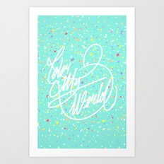 Color My World Art Print