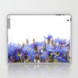 Bunch of blue cornflower flowerheads Laptop & iPad Skin