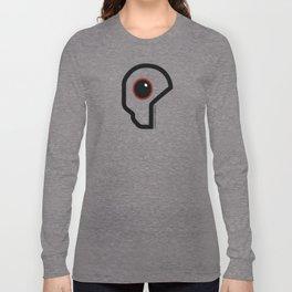 Futuristic Cyborg Logo 11 Long Sleeve T-shirt