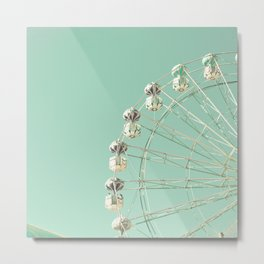 Magic Wheel Metal Print