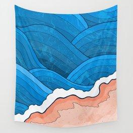 Seaside Beach Wall Tapestry
