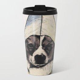 Banana Dog Metal Travel Mug